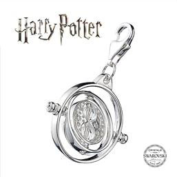 Harry Potter: Time Turner Swarovksi Charm (Sterling Sølv)