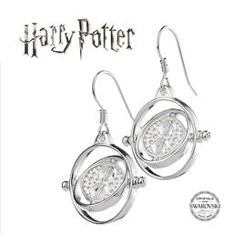 Harry Potter: Time Turner Swarovksi Øreringe (Sterling Sølv)