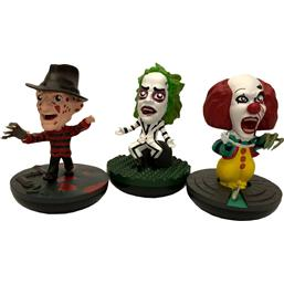 A Nightmare On Elm Street: REVOS Horror Wobbling Vinyl Figures 3-Pack 10 cm