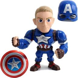Marvel Metals Diecast Mini Figure Captain America 15 cm