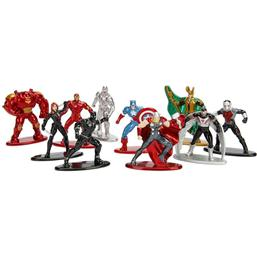 Marvel Comics Nano Metalfigs Diecast Mini Figures 10-Pack Wave 1 4 cm