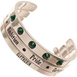 Harry Potter: Harry Potter Bracelet Set Cuff Slytherin