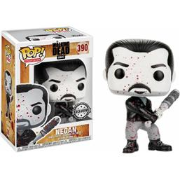 Black & White Bloody Negan POP! Television Vinyl Figur (#390)