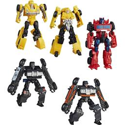 Transformers: Transformers Bumblebee Energon Igniters Power Speed Action Figures 2018 Wave 2 Assortment (8)