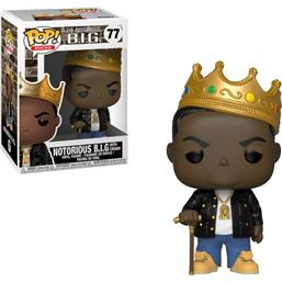 Notorious B.I.G: Notorious B.I.G. with Crown POP! Rocks Vinyl Figur (#77)