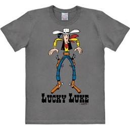 Lucky Luke: Lucky Luke Easy Fit T-Shirt Showdown Grå