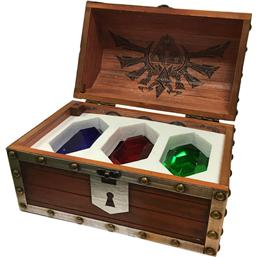 Legend of Zelda Paperweight 3-Pack Rupee Chest