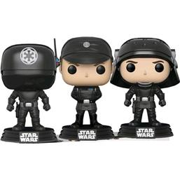 Star Wars POP! Vinyl Figur 3-Pak Gunner, Officer & Trooper