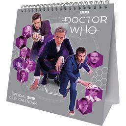 Doctor Who: Doctor Who Bord Kalender 2019