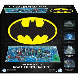 Batman: Batman 4D Large Puzzle Gotham City (1550+ pieces)