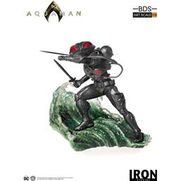 DC Comics: Aquaman BDS Art Scale Statue 1/10 Black Manta 20 cm
