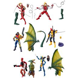 Marvel Legends Series Action Figures 15 cm Deadpool 2018 Wave 2 Assortment
