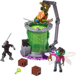 Teenage Mutant Ninja Turtles: Teenage Mutant Ninja Turtles Mega Bloks Construction Set Baxter Mutation Lab