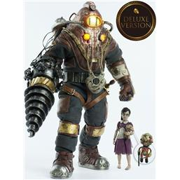 Bioshock: BioShock Action Figure 2-Pack 1/6 Subject Delta & Little Sister Deluxe Version 33 cm