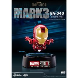 Iron Man: Iron Man 3 Egg Attack Floating Model Iron Man Mark III The First Ten Years Edition 16 cm
