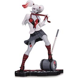 DC Comics Red, White & Black Statue Harley Quinn by Guillem March 17 cm