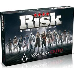 Assassin's Creed Risk Brætspil *Engelsk Version*