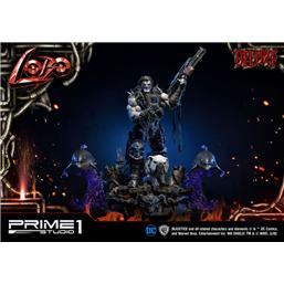 Injustice: Injustice Gods Among Us Statue 1/3 Lobo Deluxe Version 98 cm