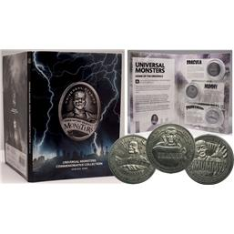 Diverse: Universal Monsters Commemorative Collection Collectable Coin 3-Pack Series 1