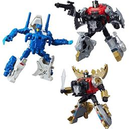 Transformers Generations Power of the Primes Action Figures Deluxe Class 2018 Wave 2 3-pack