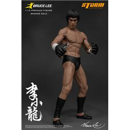 Bruce Lee: Bruce Lee The Martial Artist Series No. 2 Statue 1/12 Bruce Lee (Iconic MMA Outfit) 19 cm