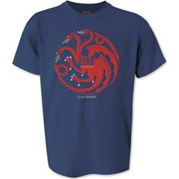 Targaryen - Fire And Blood t-shirt - Blå