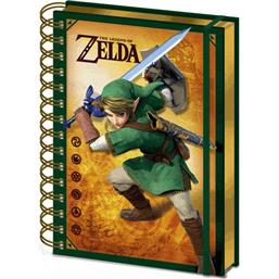 Legend of Zelda Notesbog A5