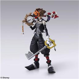 Kingdom Hearts II Play Arts Kai Action Figure Sora Halloween Town Ver. 21 cm