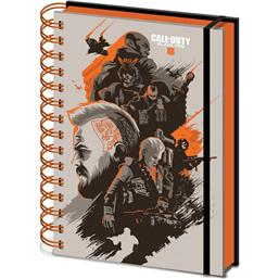 Call Of Duty: Call of Duty Black Ops 4 Wiro Notebook A5