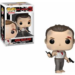 John McClane POP! Movies Vinyl Figur (#667)