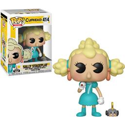 Cuphead: Sally Stageplay POP! Games Vinyl Figur (#414)