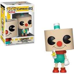 Cuppet POP! Games Vinyl Figur (#413)