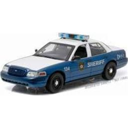 Ford Crown Victoria Police Interceptor 1/18 2001