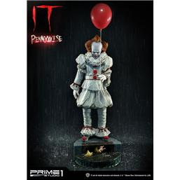 Stephen Kings It 2017 Statue 1/2 Pennywise 111 cm
