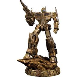 Transformers: Transformers Generation 1 Statue Optimus Prime Gold Version 61 cm
