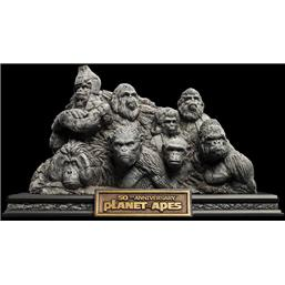 Planet of the Apes: Planet of the Apes Statue Apes Through the Ages 29 cm