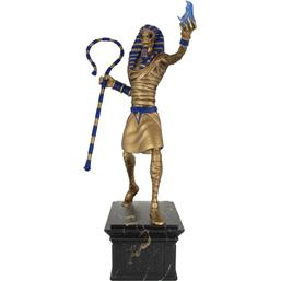 Iron Maiden Legacy of the Beast PVC Statue 1/10 Powerslave Eddie Golden Idol 30 cm