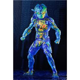 Predator: Thermal Vision Fugitive Predator Action Figur 20 cm