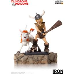 Dungeons & Dragons: Dungeons & Dragons BDS Art Scale Statue 1/10 Bobby The Barbarian & Uni 16 cm