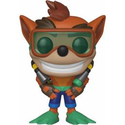 Crash Bandicoot: Scuba Crash POP! Games Vinyl Figur (#421)