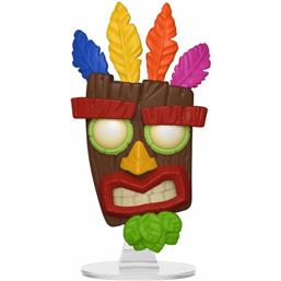 Crash Bandicoot: Aku Aku POP! Games Vinyl Figur (#420)