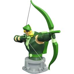 Justice League: Justice League Unlimited Animated Bust Green Arrow 15 cm
