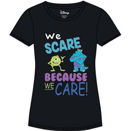 We Scare Because We Care T-Shirt (dame model)
