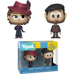 Mary Poppins: Mary Poppins og Jack the Lamplighter VYNL Vinyl Figure 2-Pak