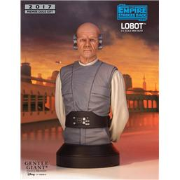 Star Wars: Star Wars Episode V Bust 1/6 Lobot PGM Exclusive 18 cm