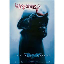 Why so serious Plakat