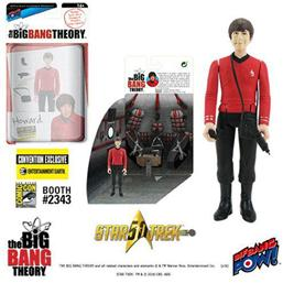 Big Bang Theory: The Big Bang Theory Action Figures with Diorama Set Howard TOS EE Exclusive 10 cm