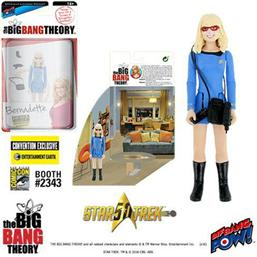 The Big Bang Theory Action Figures with Diorama Set Bernadette TOS EE Exclusive 10 cm