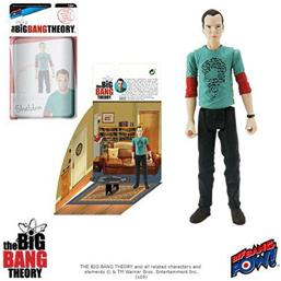 The Big Bang Theory Action Figures with Diorama Set Sheldon Riddler Shirt 10 cm