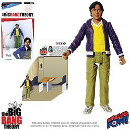 The Big Bang Theory Action Figures with Diorama Set Raj 10 cm